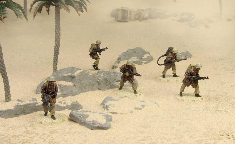 Arrivano gli Italiani!! Battaglione San Marco