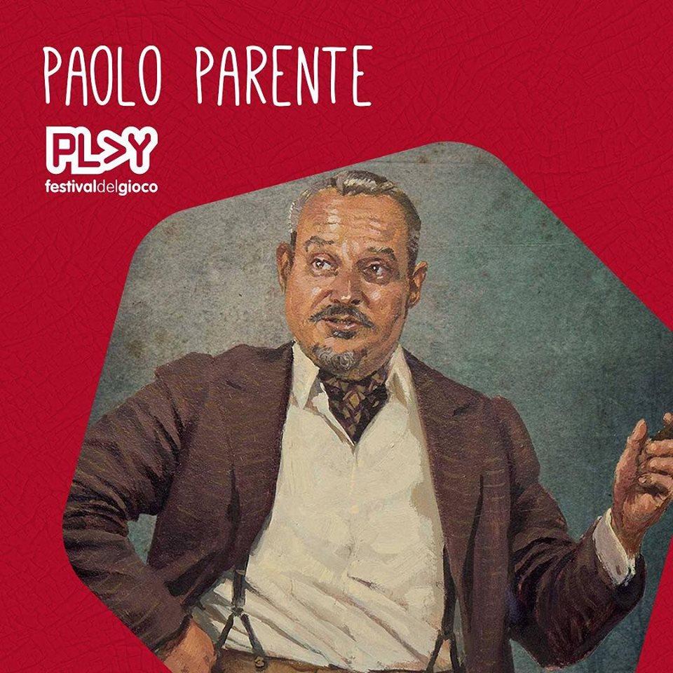 Paolo Parente ospite della 10° edizione di Play!