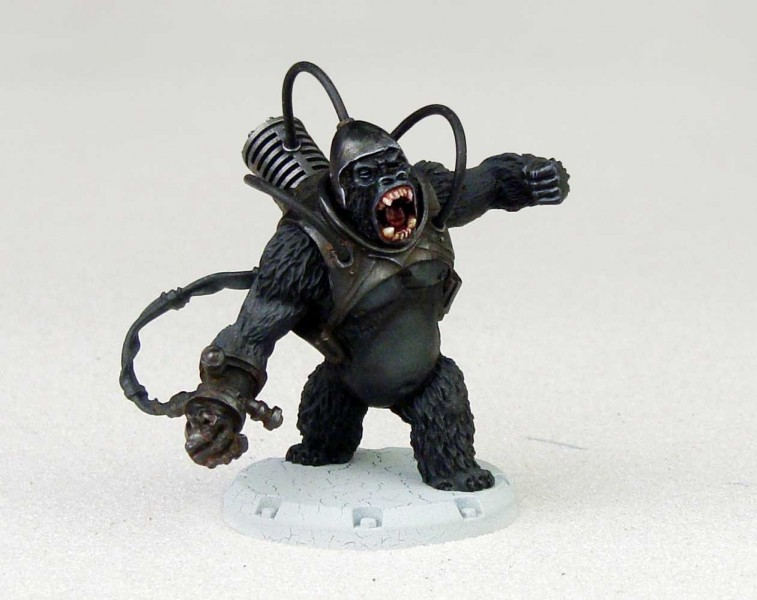 Blutkreuz: Gorilla e gli eroi Gorilla dust 1947