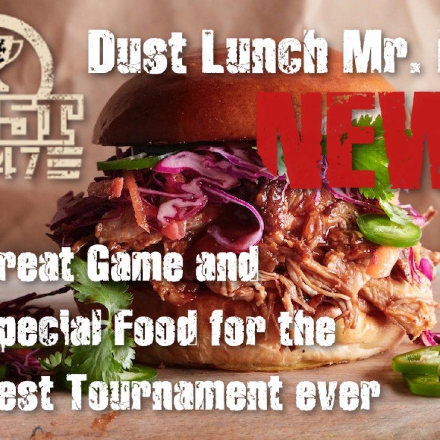 Great Game end Special Food for the Best Tournament ever