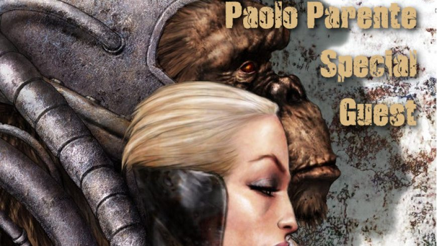 PAOLO PARENTE to LUCCA COMICS & GAMES 2019