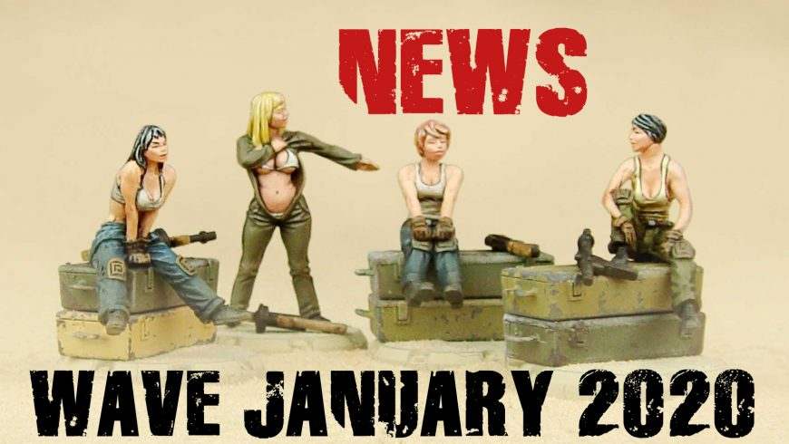 NEWS FROM THE FRONT: NEW ARRIVALS FOR STORES AND WEBSHOPS FROM 2 JANUARY 2020