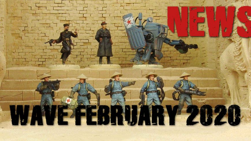 NEWS FROM THE FRONT: NEW ARRIVALS FOR THE STORES AND WEBSHOP FROM 6 FEBRUARY 2020. MILAN WARGAMES Tournament Appointment