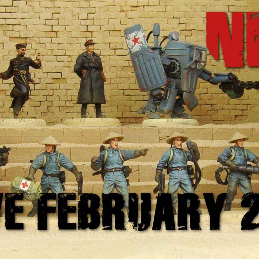NOTIZIE DAL FRONTE: NUOVI ARRIVI PER I NEGOZI E WEBSHOP DAL 6 FEBBRAIO 2020. Appuntamento Torneistico di MILANO WARGAMES