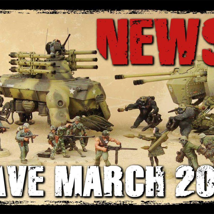 NOTIZIE DAL FRONTE: NUOVI ARRIVI PER DUST DAL 25 MARZO 2020.  IL CAMPIONATO ITALIANO: IMPORTANTE APPUNTAMENTO TORNEISTICO DI MODENA PLAY.