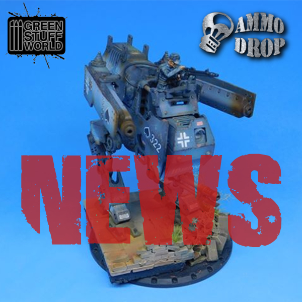 NEWS FROM THE FRONT: AMMO DROP'S INTERESTING PRODUCTS FOR PAINTING COMING IN THE WEBSTORE. THE ITALIAN DUST 1947 RULEBOOK IS AVAILABLE.