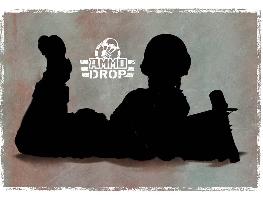 Neuzugang für Ammo Drop! Paolo Parente zeichnet einen Söldnerhelden (Pinup).