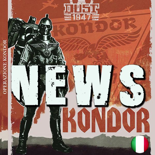 OPERAZIONE KONDOR, LA MORTE DAI CIELI! LIBRO CAMPAGNA IN ITALIANO